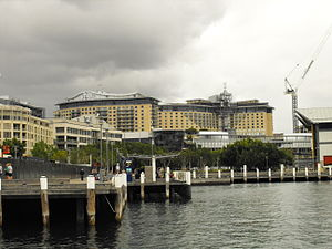 The Star, Sydney - The harbour side of The Star
