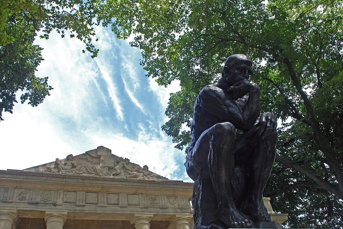List Of The Thinker Sculptures Wikipedia