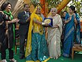 The Union Minister for Culture, Smt. Chandresh Kumari Katoch honoured the women artists at the International Women's Day celebrations, in New Delhi on March 08, 2013.jpg