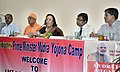 The Union Minister for Minority Affairs, Dr. Najma A. Heptulla addressing at the launch of the Prime Minister's MUDRA Yojana in South 24 Parganas, at Neempith on October 01, 2015.jpg