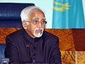 The Vice President, Mohammad Hamid Ansari addressing at the Academy of Public Administration at Astana, Kazakhstan on April 08, 2008.jpg