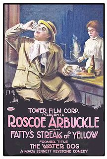 <i>The Water Dog</i> 1914 film by Roscoe Arbuckle