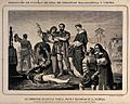 The beheading of Juan de Padilla and his associates Wellcome V0041767.jpg
