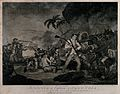 The death of Captain James Cook; a man is fighting off his a Wellcome V0041185.jpg