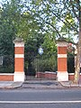 The gateway to the Chelsea Physic Garden - geograph.org.uk - 2124604.jpg