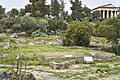 The gateway to the Council House (Bouleuterion) in the Ancient Agora of Athens on March 23, 2021.jpg