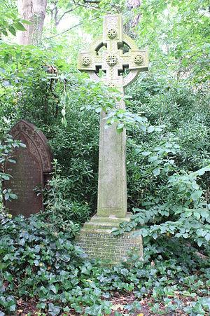 Henry Allon - The grave of Rev Henry Allon, Abney Park Cemetery, London