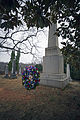 The official wreath is displayed during the commemoration of the 263rd anniversary celebration of former president James Madison's birth, March 16 140316-M-QJ238-006.jpg