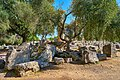 The scattered ruins of the Temple of Zeus in Olympia on October 14, 2020.jpg