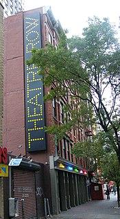 Theatre Row (New York City) human settlement in Manhattan, New York, United States of America
