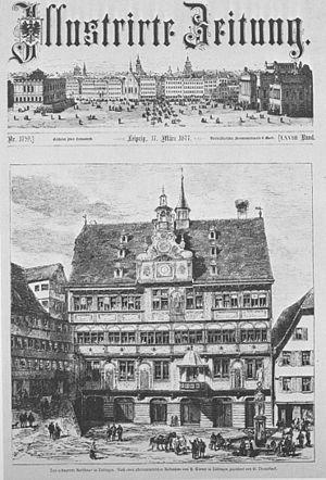 Tübingen Tübinger Rathaus nach der Renovierung...
