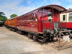 Third Class Carriage, North Norfolk Railway (geograph 4608654).jpg