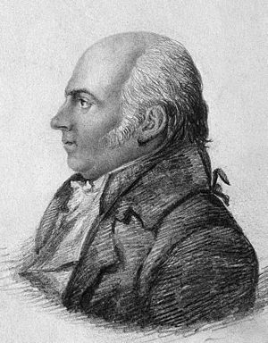 Thomas Beddoes - Thomas Beddoes, pencil drawing by Edward Bird