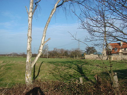 Moated site near the manor Thorpe in Balne - Manor House.jpg