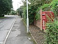 Three Legged Cross, postbox No. BH21 207, Church Road - geograph.org.uk - 953559.jpg