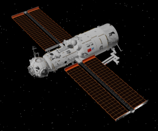 <i>Tianhe</i> core module Component of Chinas space station
