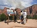Timber Top Mountain Fire photos, Zion National Park, July 2003 (831ac2f8-0afa-4c9d-8d20-21f291b783c7).jpg