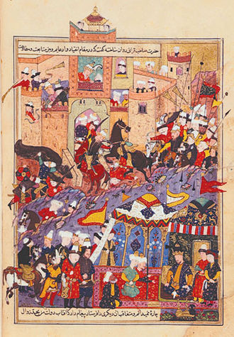 Timur - Timur commanding the Siege of Balkh