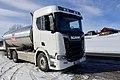 Tine Melkebil tankbil Scania R580 Milk tank truck Oppdal Norway 2019-03-19 DSC09353.jpg