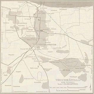 History of Tiruchirappalli