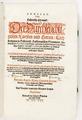 """Titelblad, 1621, """"Annales, oder historische Chronick, der..."""" - Skoklosters slott - 93379.tif"""