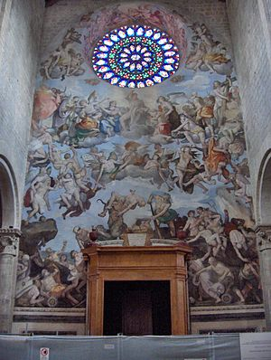 "Ferraù Fenzoni - ""Last Judgment"" in Todi Cathedral"