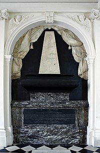 Tomb Brain James II England VII Scotland Scots college Paris.jpg