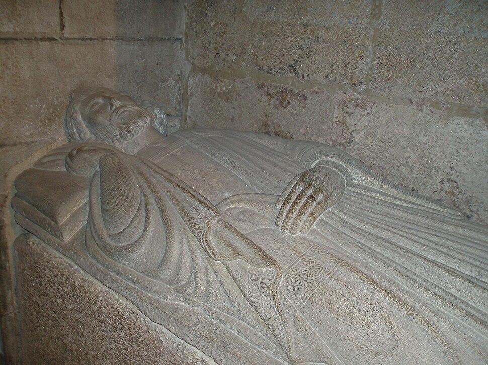 Sepulcro do rei Afonso VIII de León e Galicia (Rex Legionis et Gallecie); (m. 1230)