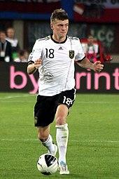 Kroos con la nazionale tedesca nel 2011.