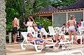 Topless woman Hedonism pool.jpg