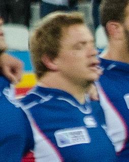 Torsten van Jaarsveld Rugby player