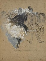 Toulouse-Lautrec - AU BAL DE L'ELYSEE MONTMARTRE, 1887, MTL.124.jpg