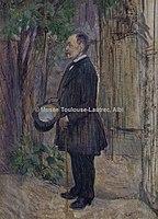 Toulouse-Lautrec - Mr HENRI DIHAU, 1891, MTL.137.jpg