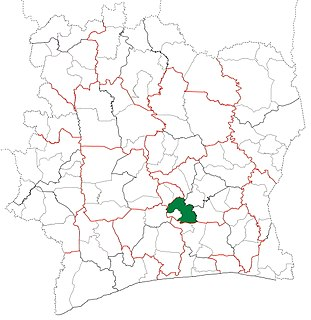 Toumodi Department Department in Lacs, Ivory Coast