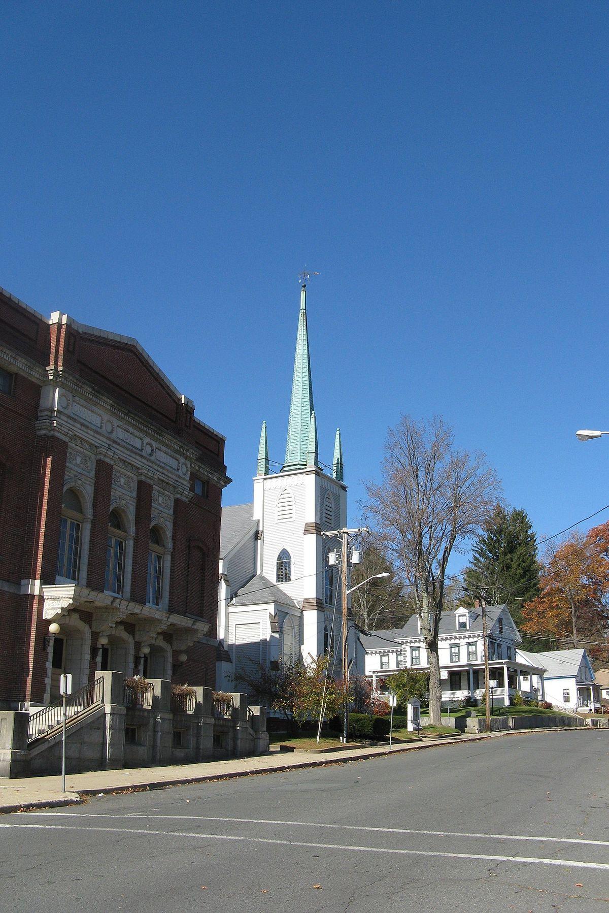 orange center historic district  orange  massachusetts