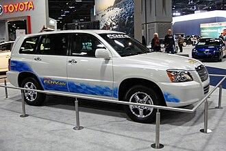 Toyota FCHV - Toyota FCHV-adv SUV at the 2010 Washington Auto Show.