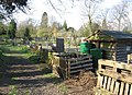 Track for access to allotments - Empty Common - geograph.org.uk - 770876.jpg