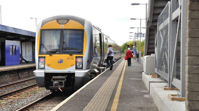 Train, Portadown station