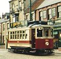 Tram No. 196, Beamish Museum, August 1990.jpg