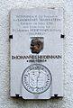 Traunreut, Gedenktafel Dr. J. Heidenhain.JPG