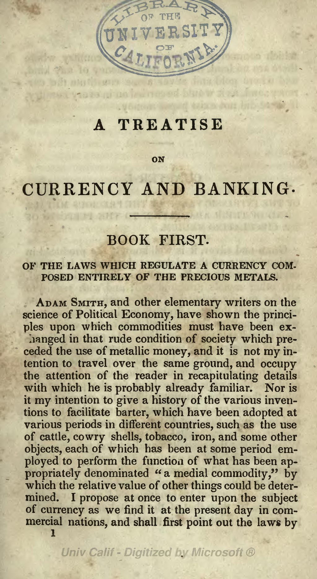 Page:Treatise on Currency and Banking djvu/23 - Wikisource