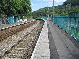 Trehafod railway station