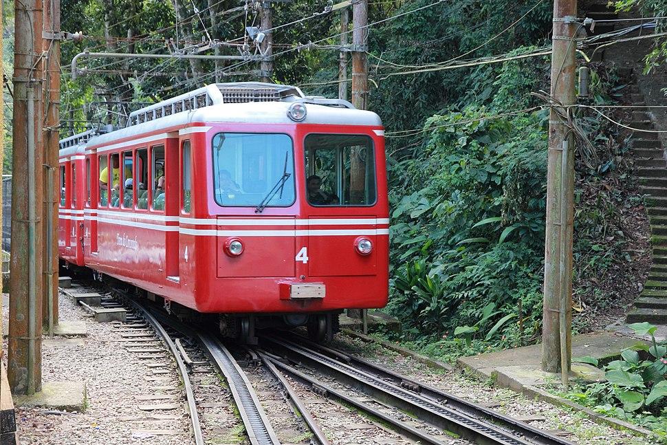 Trem do Corcovado na Estação Paineiras 01