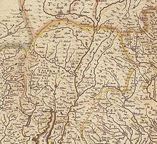 Il Trentino nella mappa Dominium Venetum in Italia del cartografo Henricus Hondius (1597 – 1651)
