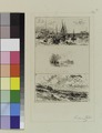 Trouville, Paysage et Villers (trois croquis sur la meme planche) (NYPL b14426831-ps prn cd7 101).tiff