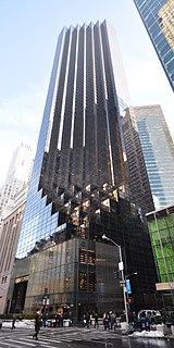 Trump Tower Skyscraper in Manhattan, New York