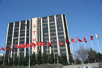 Yeşilköy - Turkish Airlines headquarters