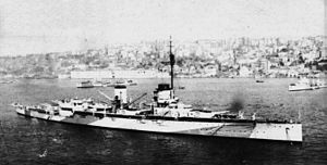 Greek battleship Salamis - ''Yavuz'', the ship Salamis was to counter