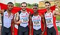 Turquía en los relevos 4x100 en los Juegos del Mediterráneo 2018.jpg