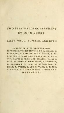 Two Treatises of Government.djvu
